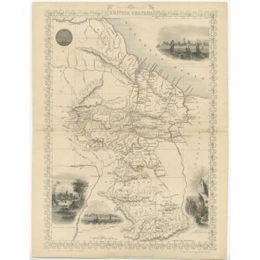 British Guayana - Rapkin (c.1850)