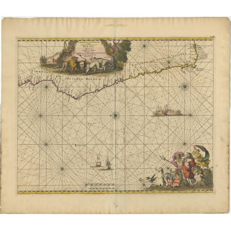 Cimbebas et Caffariae - De Wit (1675)