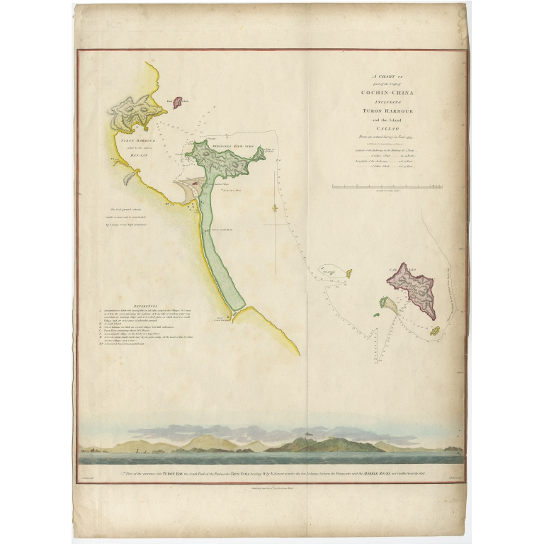 A Chart of part of the Coast of Cochin-China (..) - Baker (1796)