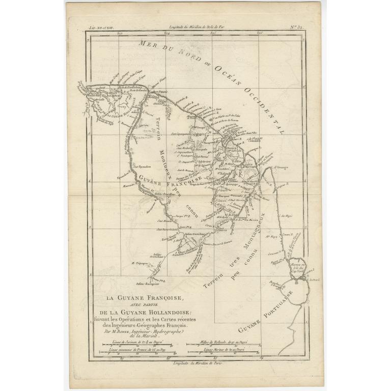 La Guyane Francoise (..) - Bonne (c.1780)