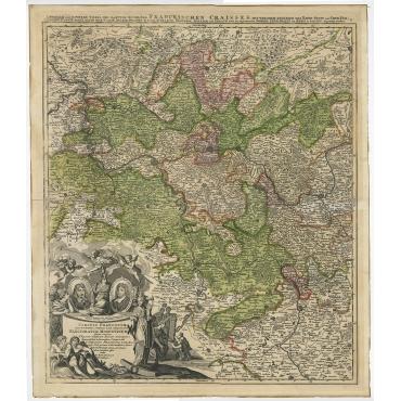 Circuli Franconiae - Homann (c.1703)