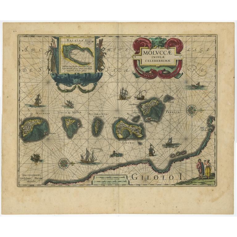Moluccae Insulae Celeberrimae - Blaeu (c.1640)