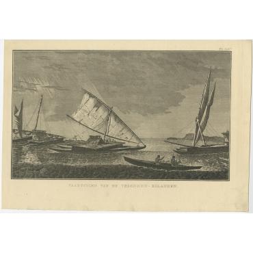Vaartuigen van de Vrienden-Eilanden - Cook (c.1801)