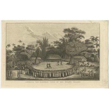 Onthaal van Kapitein Cook op het Eiland Hapaee - Cook (c.1801)