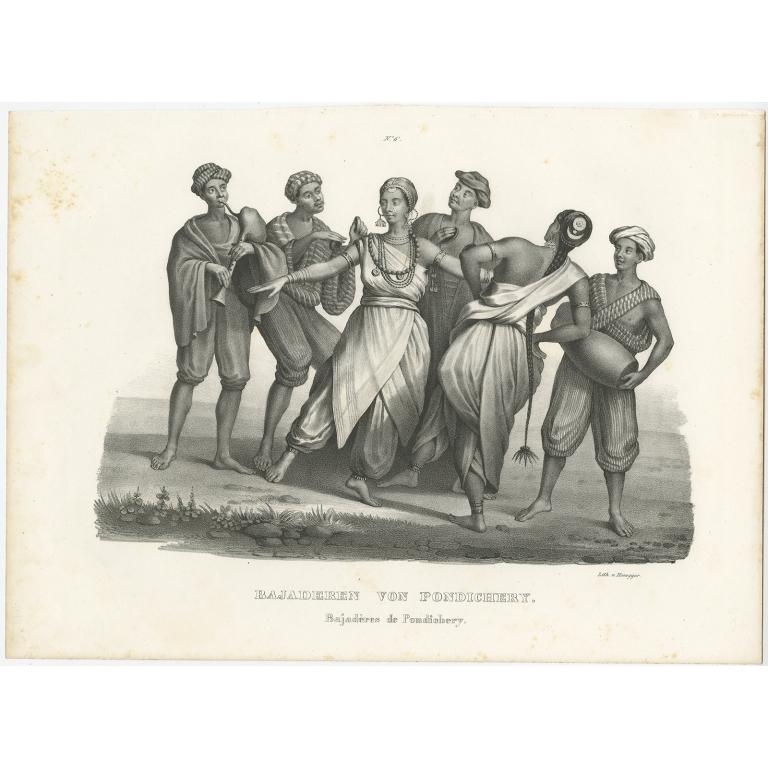Bajaderen von Pondichery - Honegger (1836)