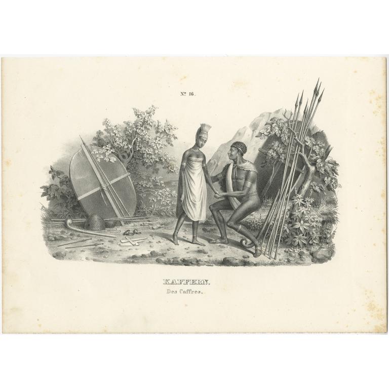Kaffern - Honegger (1836)
