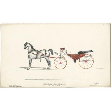 Petite Calèche Victoria - Destouches (c.1830)