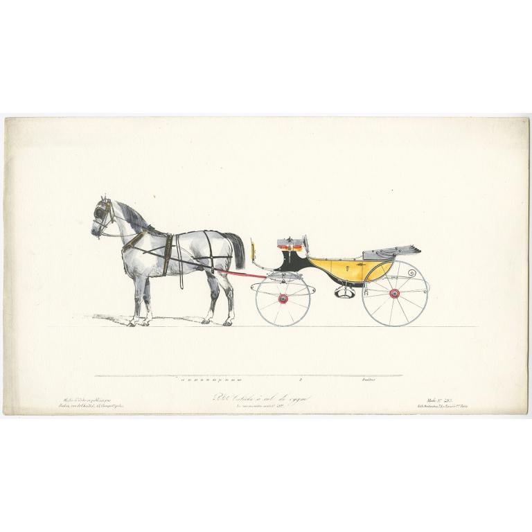 Petite Calèche à col de cygne - Destouches (c.1830)