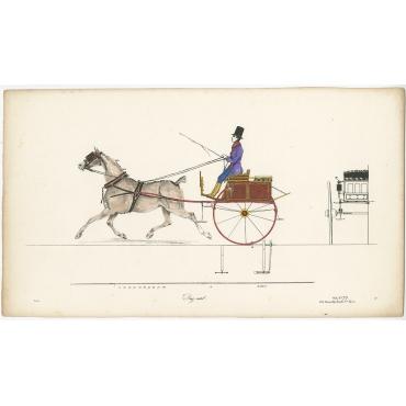 Dog-cart - Decan (c.1830)