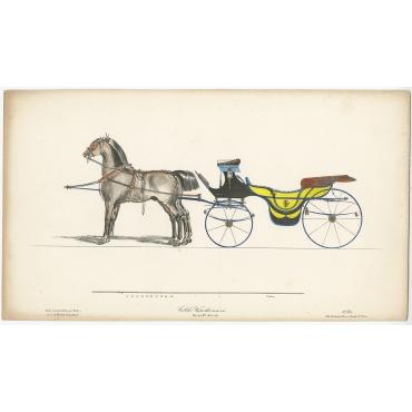 Calèche Warts dite vis-à-vis - Destouches (c.1830)