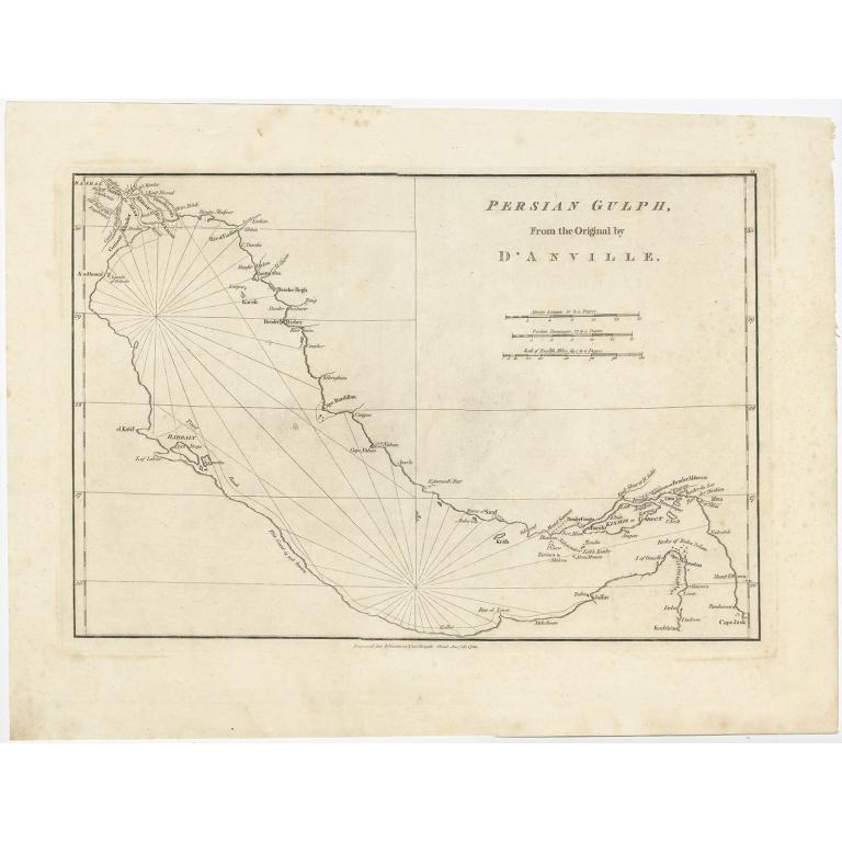 Persian Gulph - Harrison (1788)