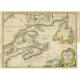 A New Chart of the Coast of New England (..) - Jefferys (1746)
