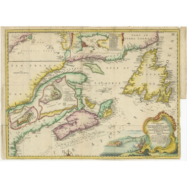 A New Chart of the Coast of New England (..) - Jefferys (1746)