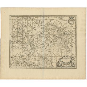 Nova et Accurata Transylvaniae Descriptio - Janssonius (c.1665)
