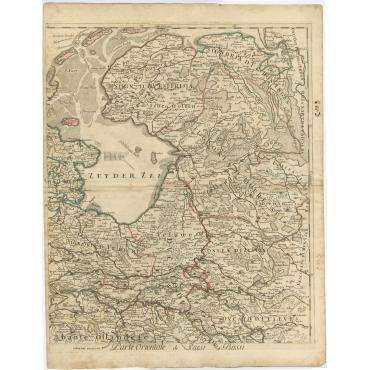 Partie Orientale de Pesi Bassi - Barbey (c.1700)