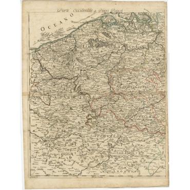 Partie Occidentale de Paesi Bassi - Barbey (c.1700)