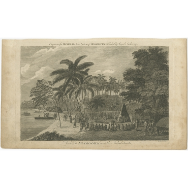 View in Anamooka and the Inhabitants - Roberts (c.1790)