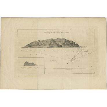 A View of the N.W. Side of Mas-A-Fuera - Carteret (c.1770)