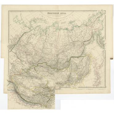 Northern Asia - Arrowsmith (1834)