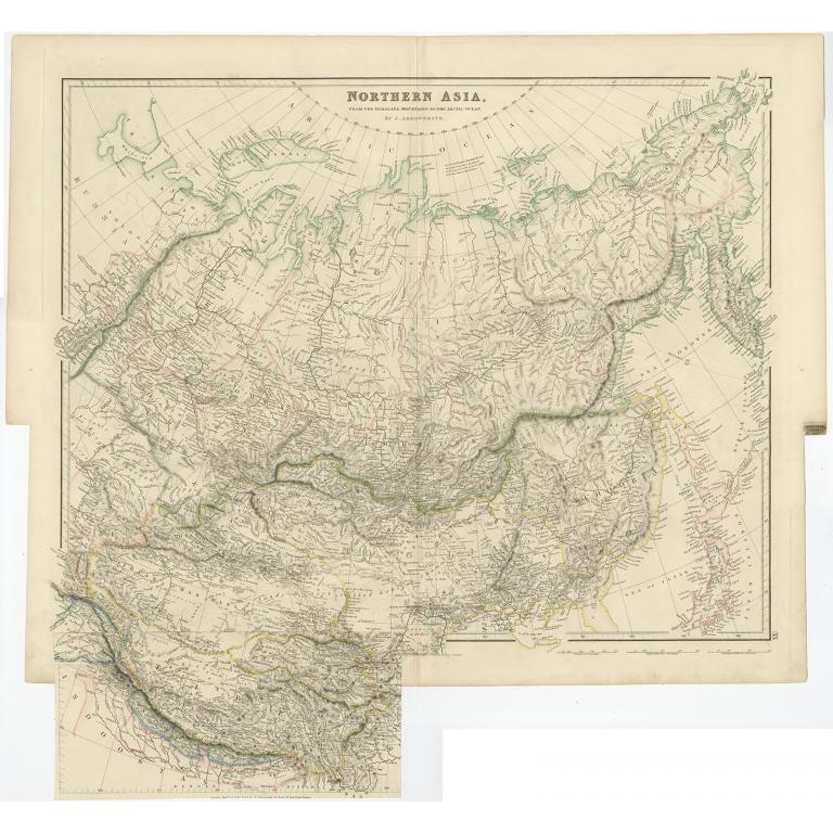 Northern Asia - Arrowsmith (1834)