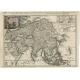 L'Asie selon les nouvelles Observations (..) - Halma (c.1715)