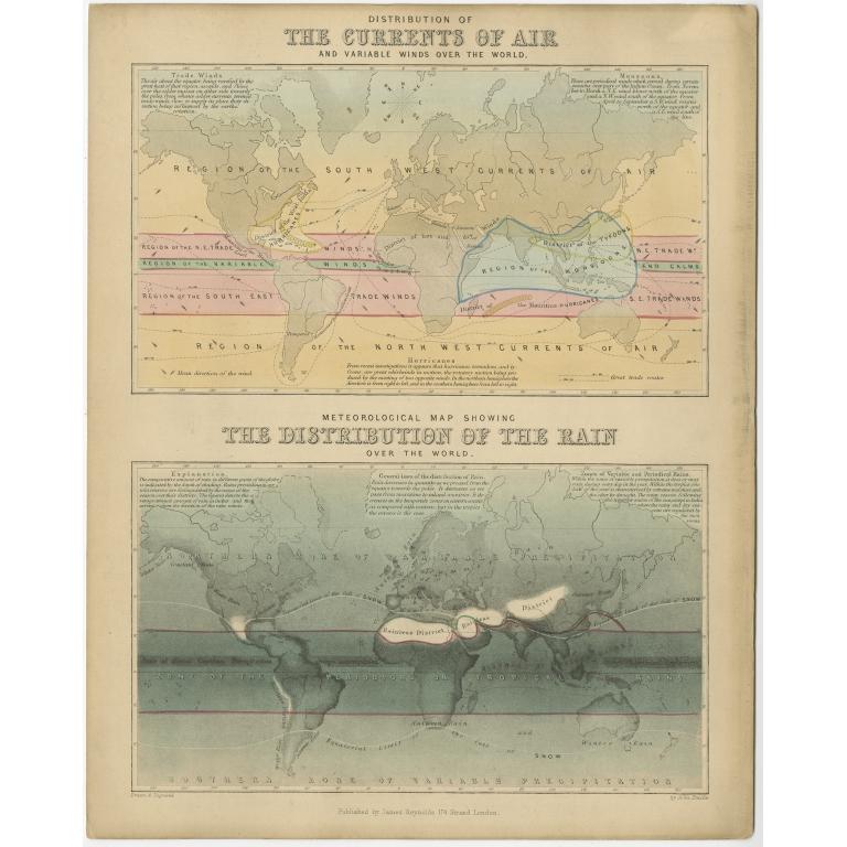 Distribution of Air and Rain - Reynolds (1843)
