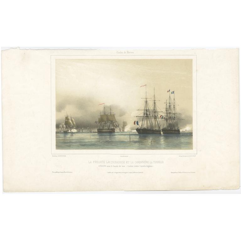 La Fregate La Courageuse (..) - Jeannin (1844)