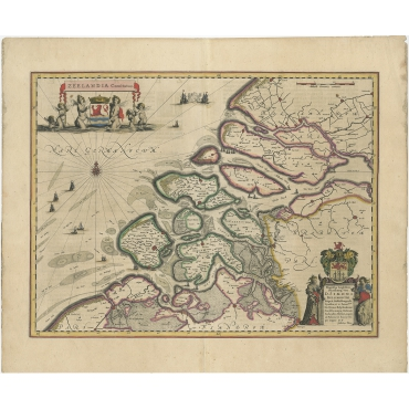 Zeelandia Comitatus - Blaeu (1638)