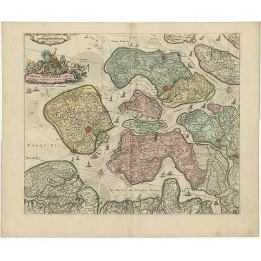 Comitatus Zelandiae Tabula - Covens & Mortier (c.1730)