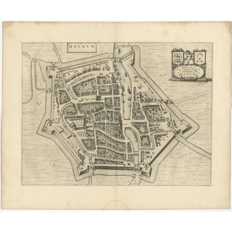 Dockum - Blaeu (c.1650)