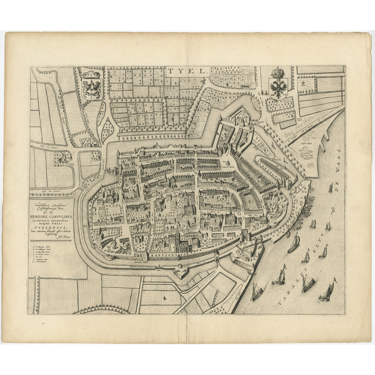 Tyel - Blaeu (1649)