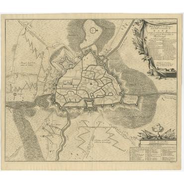 Citadelle de Gand - Dumont (1729)