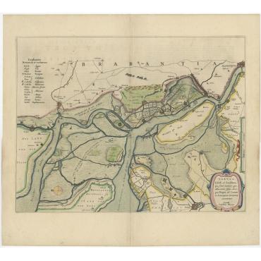 Tabula Castelli ad Sandflitam (..) - Blaeu (c.1648)