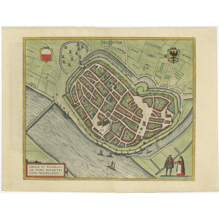 Deventer II - Braun & Hogenberg (1588)