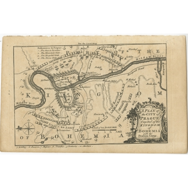 A Plan of the City of Prague - Anonymous (1757)