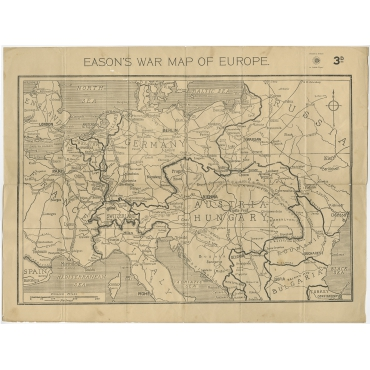 Eason's War Map of Europe