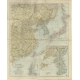 Stanford's Map of Eastern China, Japan and Korea - Stanford (1898)