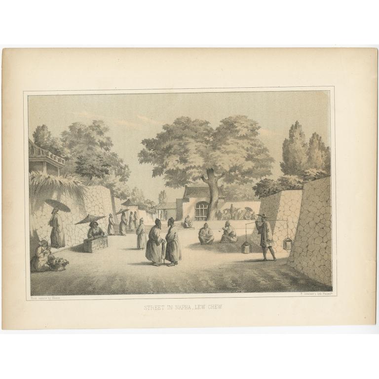 Street in Napha - Heine (1857)