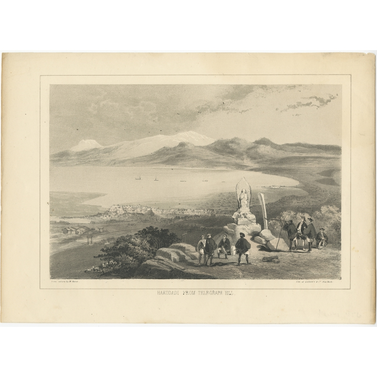 Hakodadi from Telegraph Hill II - Heine (1857)
