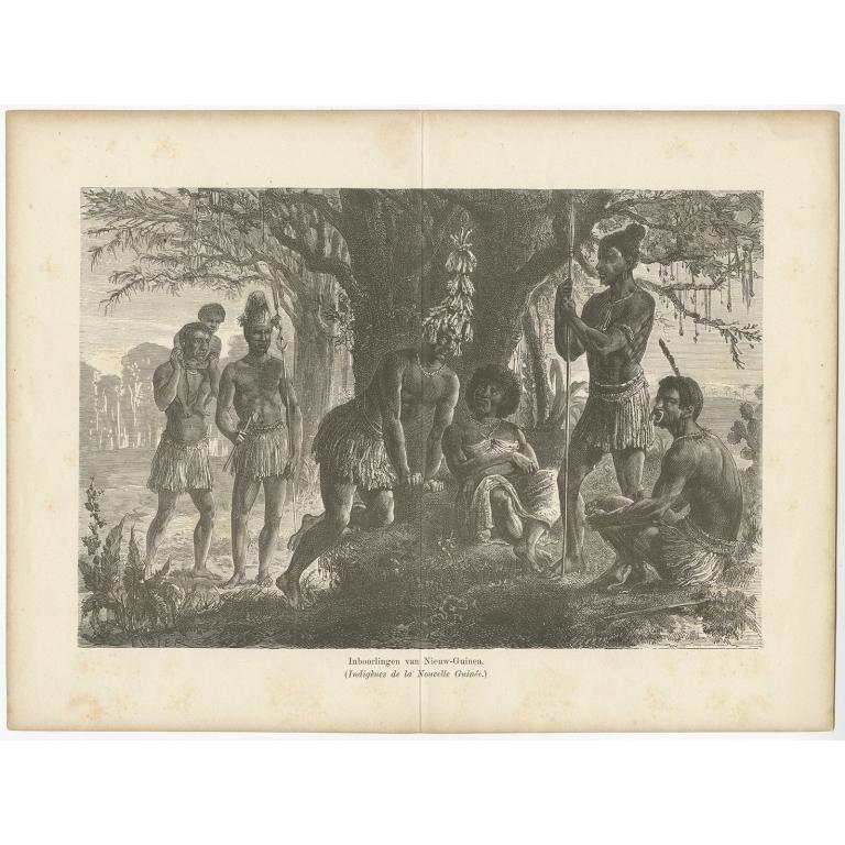 Inboorlingen van Nieuw-Guinea - Tjeenk Willink (1883)