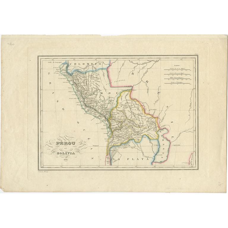 Pérou et Bolivia - Thierry (1836)