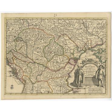 La Hongrie - Covens & Mortier (c.1730)