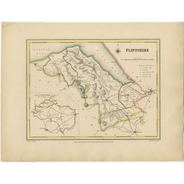 Flintshire - Walker (c.1850)