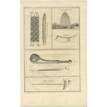 Tomahawk (..) - Picart (1727)