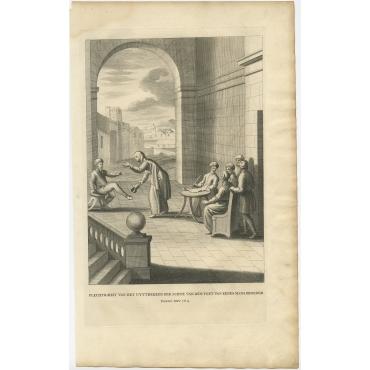 Plechtigheit van het Uyttrekken (..) - Calmet (c.1725)