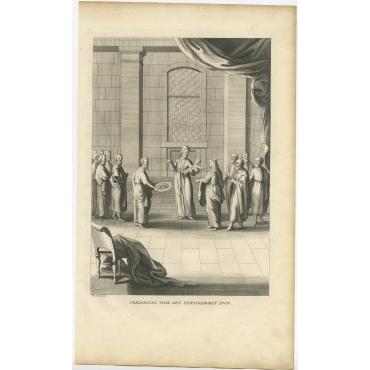 Verzoening voor den eerstgeboren zoon - Calmet (c.1725)