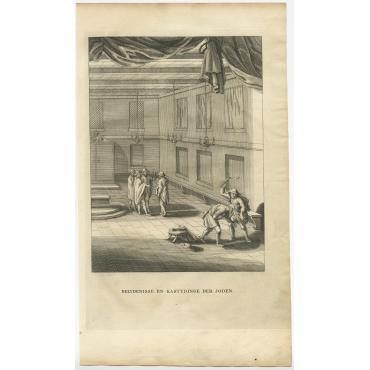 Belydenisse en Kastydinge der Joden - Calmet (1731)
