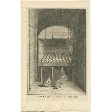 Tombeaux des Rois de la Virginie - Picart (1721)