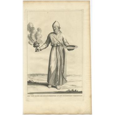 Het wit kleed des Hoogenpriesters (..) - Calmet (c.1725)