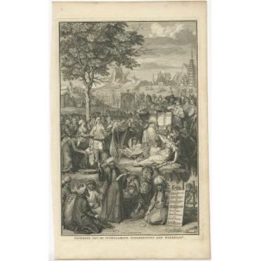 Tafereel van de voornaamste Godsdiensten (..) - Picart (1727)